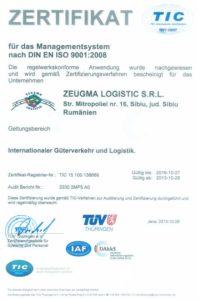 Certificat TIC Zeugma